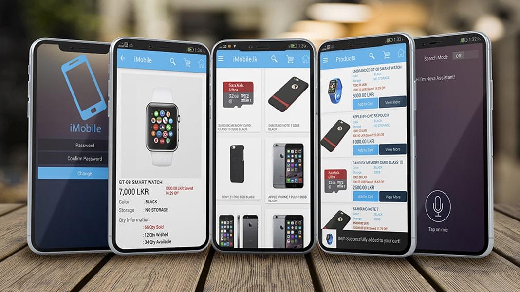 iMobile E-Commerce Mobile Application