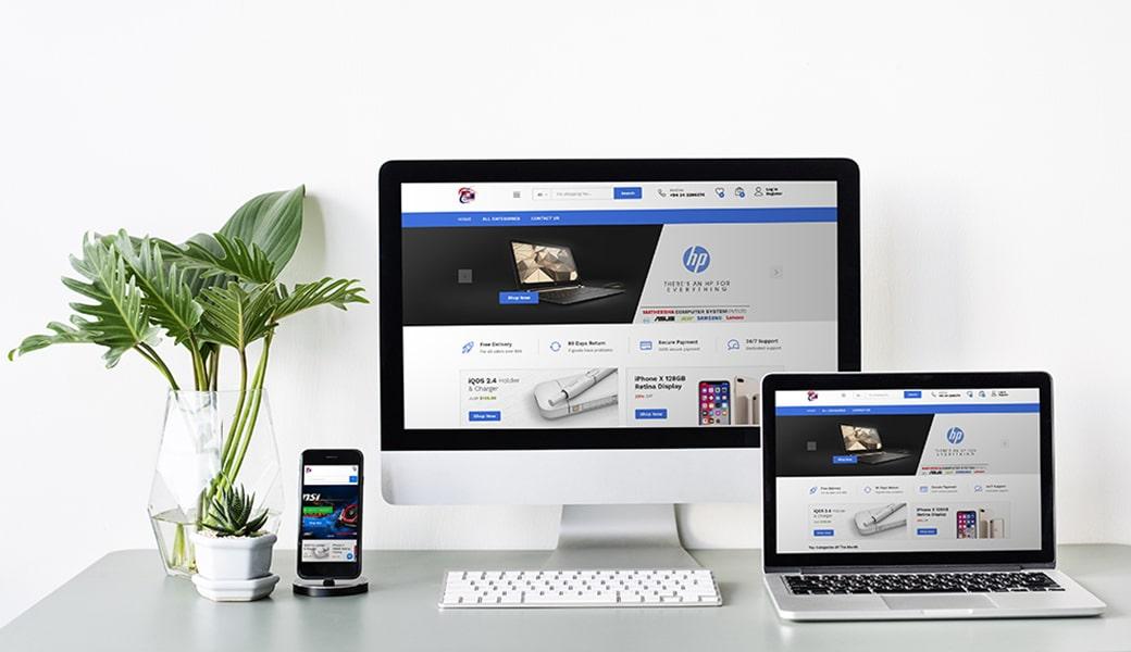 Matheesha Computer Systems Website Design