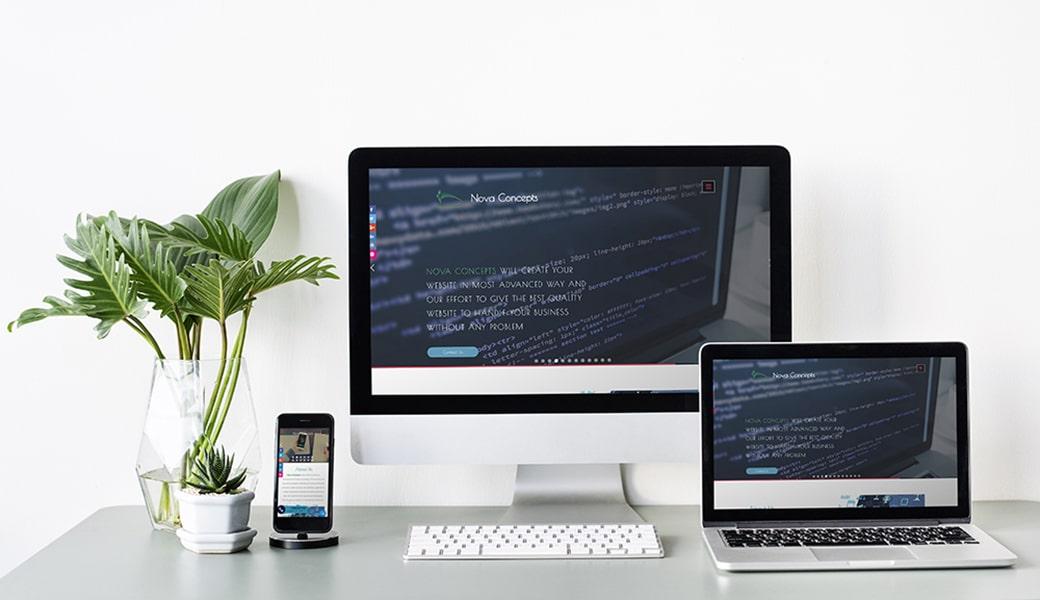 Nova Concepts Website Design