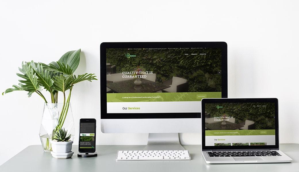 Verticulture Website Design